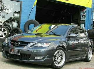 Tyre- Kinforest. Mazda MPS3 🙋♂️ It's not a actual price