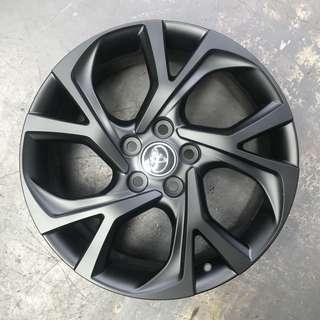 "Used 18"" Original Toyota Rims"