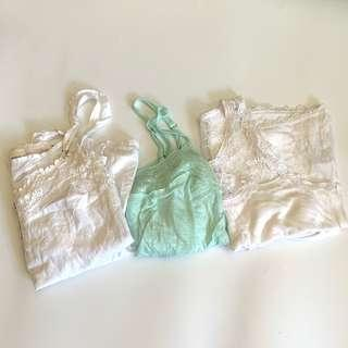 $120 for 10clothing [tank top, off the shoulder top , hoodie, skirt]