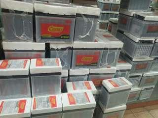 Car battery bateri kereta delivery 24Kam