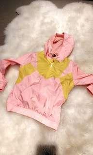 XS Pink parker hoodie
