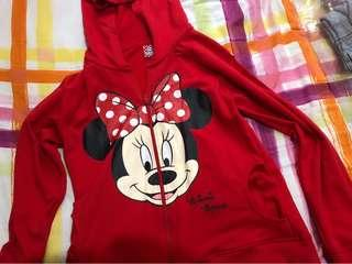 Disney Minnie Mouse Red Hoodie