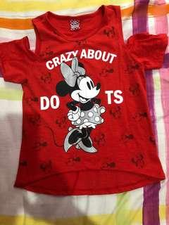 Disney Minnie Mouse Blouse