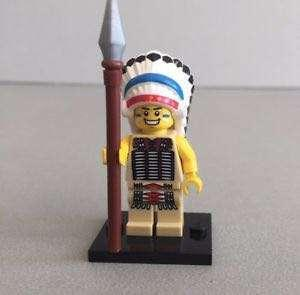 Lego Indian Chief from Series 3 Minifigure