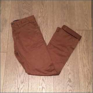 🉐65% Off! Lowrys farm men brown trousers pants chinos