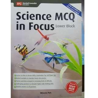 Marshall cavendish science mcq in focus lower blok