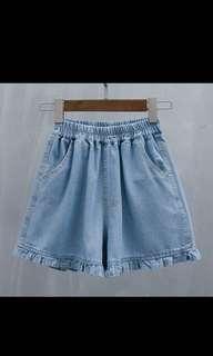 🚚 Mermaid Denim Shorts