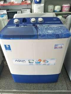 Mesin cuci aqua bisa kredit cepat
