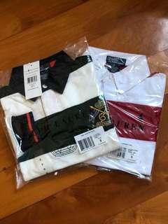 Ralph Lauren size 5 polo shirt x 2