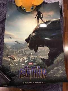 Official Black Panther Poster