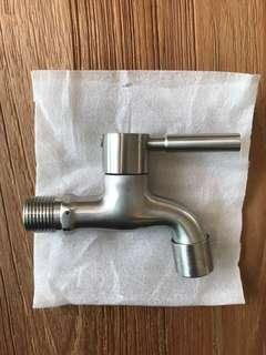Rocconi Stainless Steel Matte Wall Bib Tap