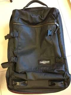 Eastpak cabin size two wheel luggage bag 兩轆手提行李