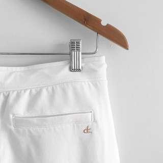 Calvin Klein white sweatpants