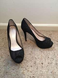 Black Betts Heels