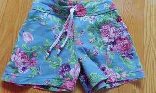 Floral short