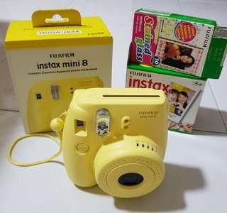 Fujifilm Instax Mini 8 (Yellow/Jaune)