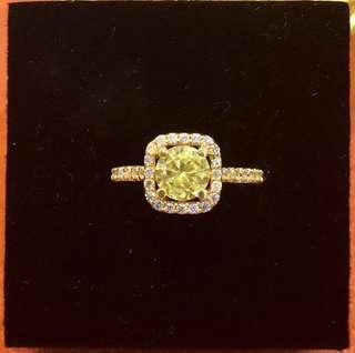 18k Japan Gold with Russian Stones