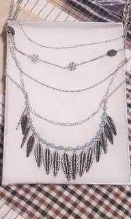 🆕 Multi Layered Silver Necklace