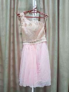 #MFEB20 High Quality Pink Lace Dress