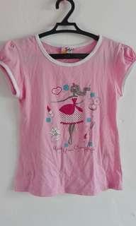 Tshirt pambahay kids