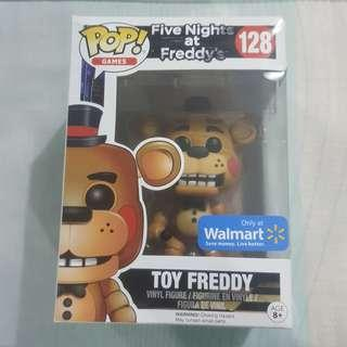Legit Brand New With Box Funko Pop Games Five Nights At Freddy's Toy Freddy Toy Figure Walmart Exclusive