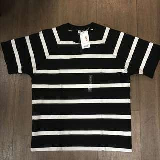 UNIQLO U Striped Oversized T Shirt new size L Lemaire