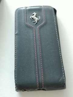 Ferrari Monte Carlo leather flapcase for iPhone 5 Pre-owned