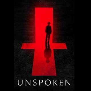 [Rent-A-Movie] THE UNSPOKEN (2015)
