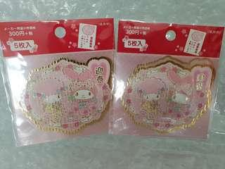 My Melody CNY Stickers Pack