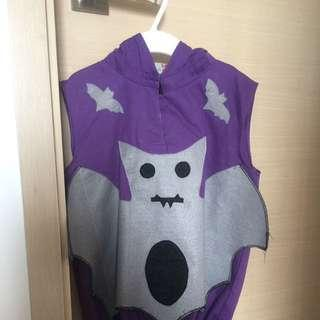 #trickortreat Halloween Bat Costume 🦇with Hood And Bag