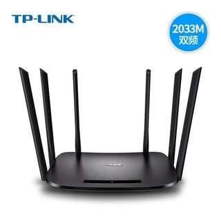 TP LINK wdr 7300 high-speed router 2100m