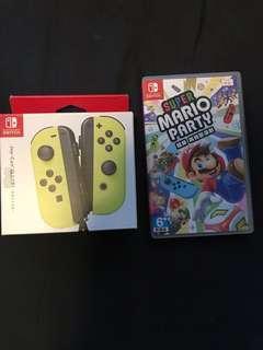 Mario Party + joy con