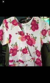 Jumpsuit floral limited motif