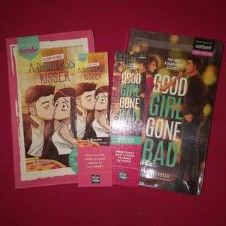 For Hire: A Damn Good Kisser & Good Girl Gone Bad (STRICLY SOLD AS BUNDLE)