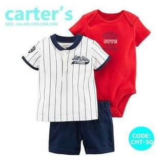 Carter's Baby 3pc Terno Set - CHT50
