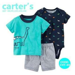 Carter's Baby 3pc Terno Set - CHT49