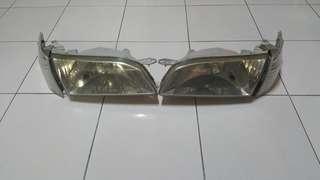 AE111 Koito headlights & signals