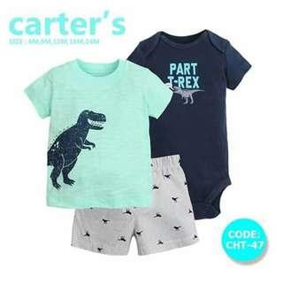 Carter's Baby 3pc Terno Set - CHT47