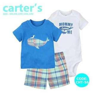 Carter's Baby 3pc Terno Set - CHT56