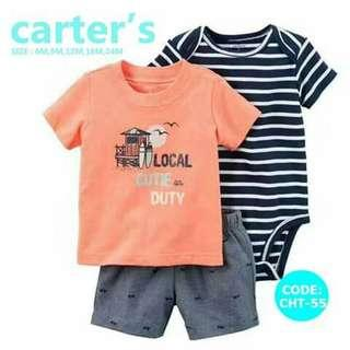 Carter's Baby 3pc Terno Set - CHT55