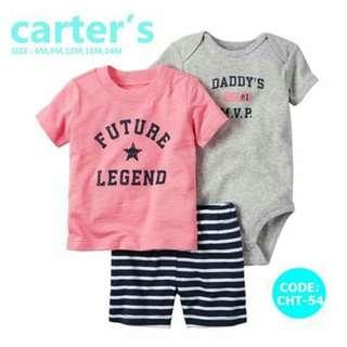Carter's Baby 3pc Terno Set - CHT54