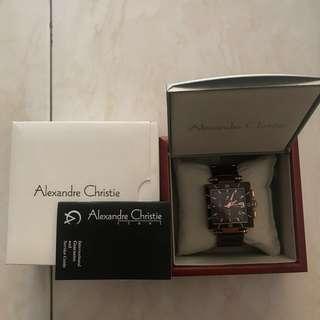 Authentic Alexander Christie Watch