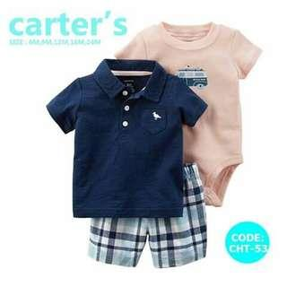 Carter's Baby 3pc Terno Set - CHT53