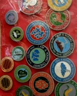 Young Scientists Badges For sharing. NOT FOR SALE