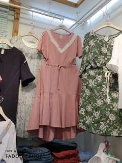 🚚 全新正韓綁帶洋裝