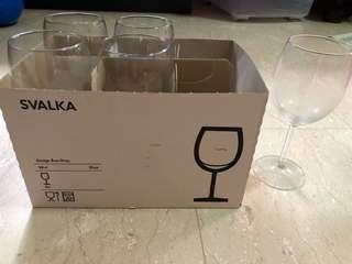 IKEA Scalia wine glasses