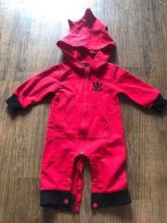 Adidas hoodie jumper red jacket sport