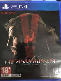 包順豐 Mgs5 metal gear solid 5 中文 PS4