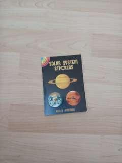 dover little activity books solar system stickers