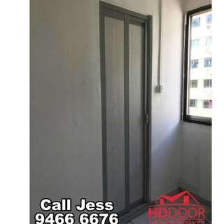 HDDoor the Slide&Swing toilet and Kitchen door with install